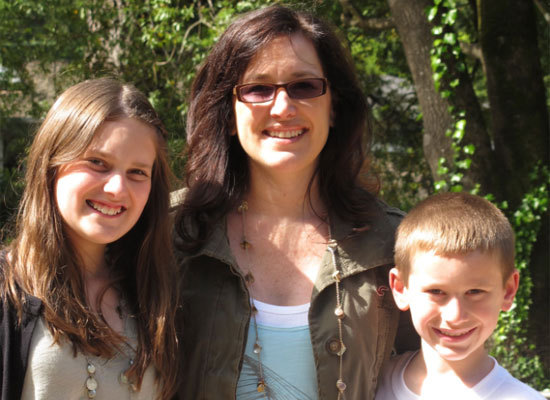 Jill developed her entire line while working a day job -- and raising two kids. She believes that she was successful because