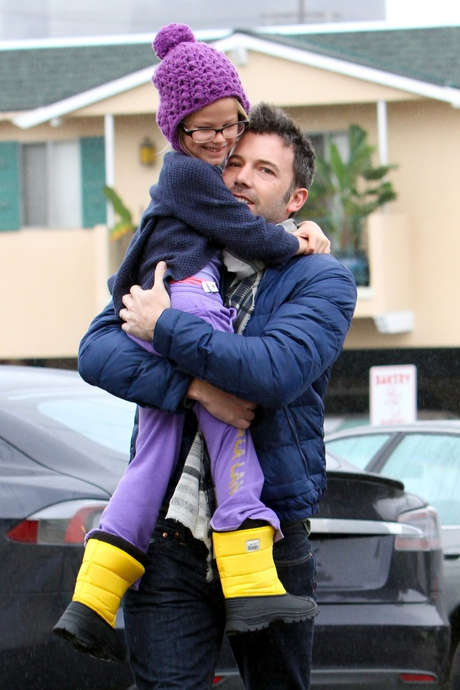 Affleck, 40, has three kids with wife Jennifer Garner -- Violet, 7, Seraphina, almost 4, and Samuel, 10 months.