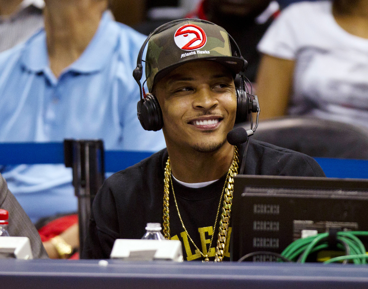 """T.I.'s more insightful songs stood out most for the LA Times.   <a href=""""http://www.latimes.com/entertainment/news/music/la-e"""
