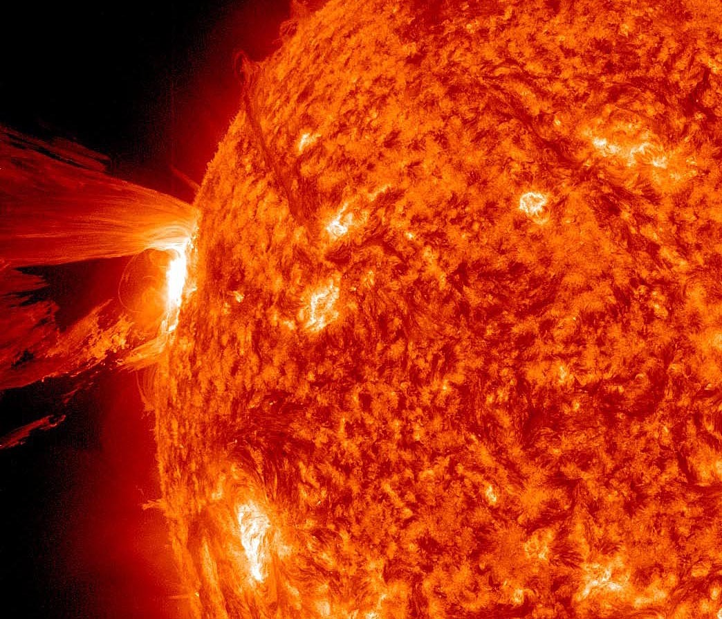 Much has been made by Mayan doomsday fear-mongers of the fact that the sun is currently entering a maximum activity phase. Th