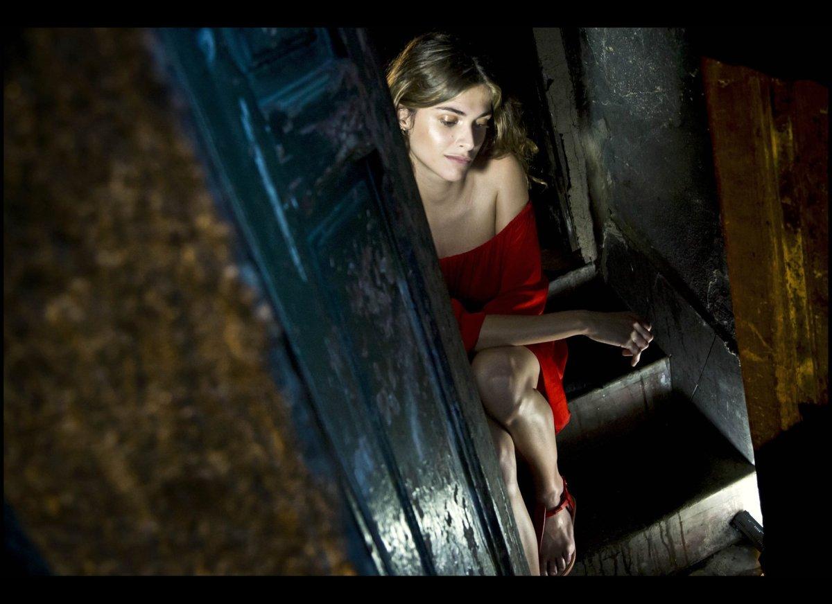 Model/actress Elisa Sednaoui  Photo courtesy of Pirelli and Alessandro Scotti