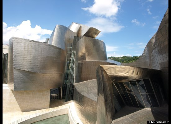 """Some critics might argue that Frank Gehry's <a href=""""http://www.lonelyplanet.com/spain/aragon-basque-country-and-navarra/bilb"""