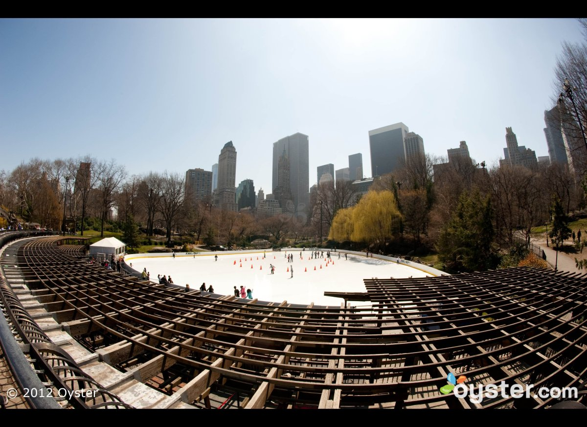 """Open for more than 25 weeks during the cooler months, Wollman Rink (officially """"Trump Rink"""" these days) has been a New York C"""