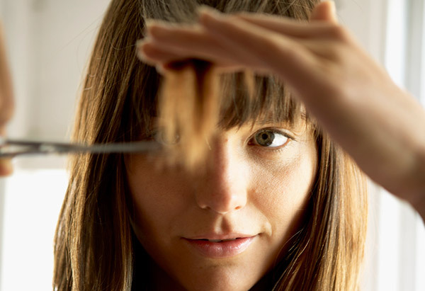 There ought to be a 24-hour support hotline for people considering trimming their own bangs. Yes, it seems likely that a long