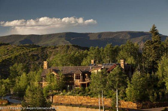 824 Pine Crest Lane, Snowmass Village, CO 81615  Beds: 5 Bed Baths: 8 Bath House Size: 7,128 Sq Ft Lot Size: 3.10 Acres Year