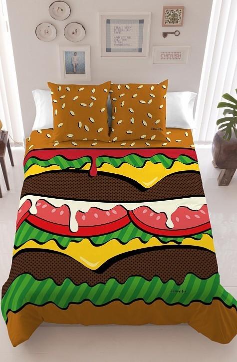 "<strong>Burger Bedding | <a href=""http://www.davidelfin.com/es/shop/davidelfin-living/fundas-nordicas/rediccion-funda-nordica"