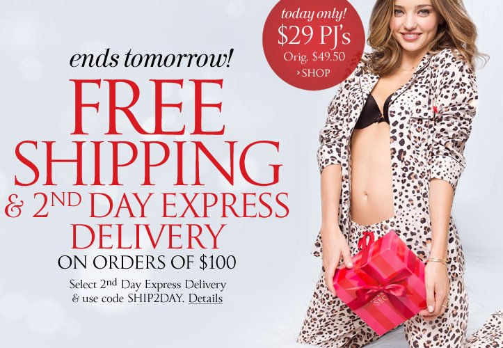 Free shipping & 2nd day express delivery on orders of $100 or more (use code Ship2day), valid through 11:59 p.m EST 12/20. Fo