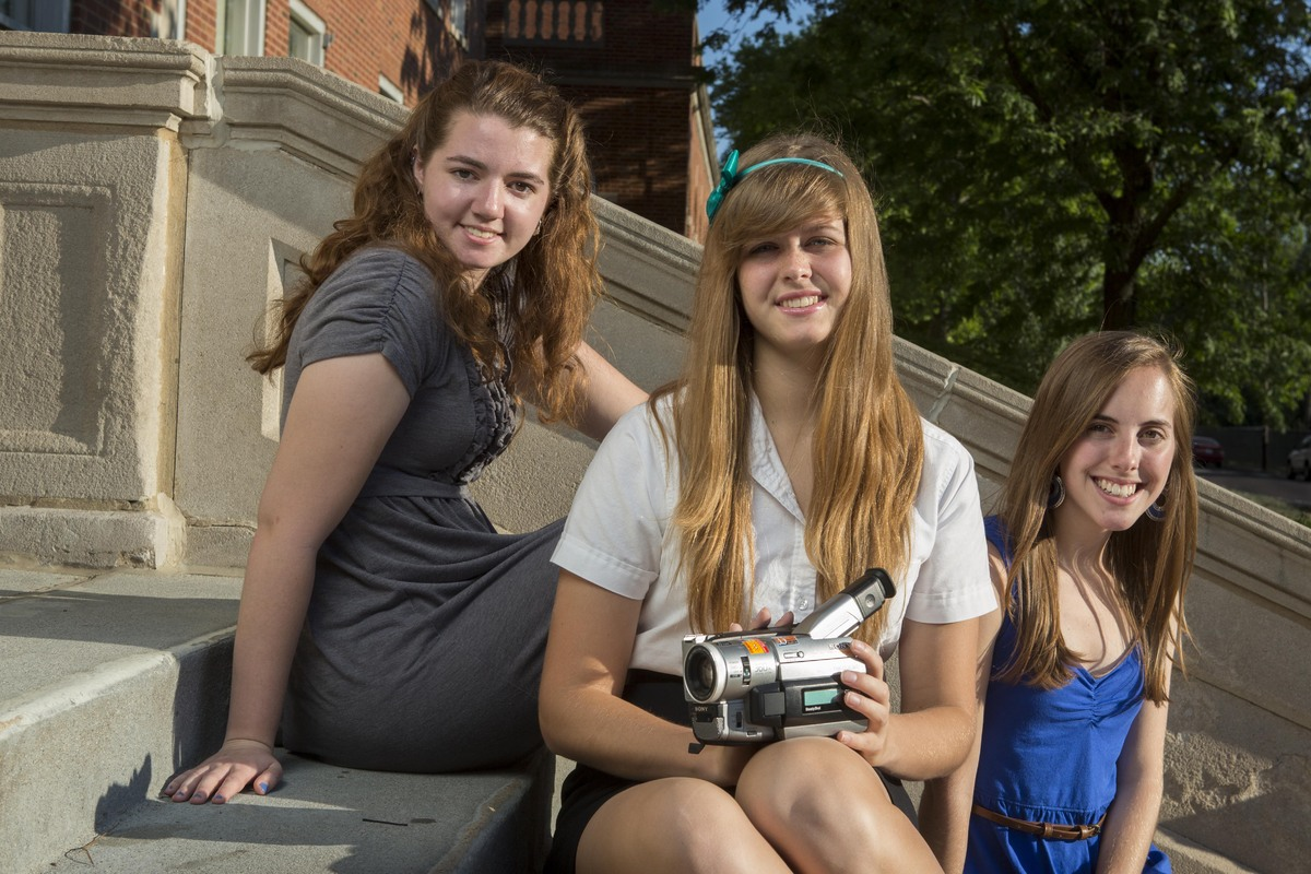 These three high school students created a documentary called <em>Colorblind</em> in order to raise awareness about civil rig