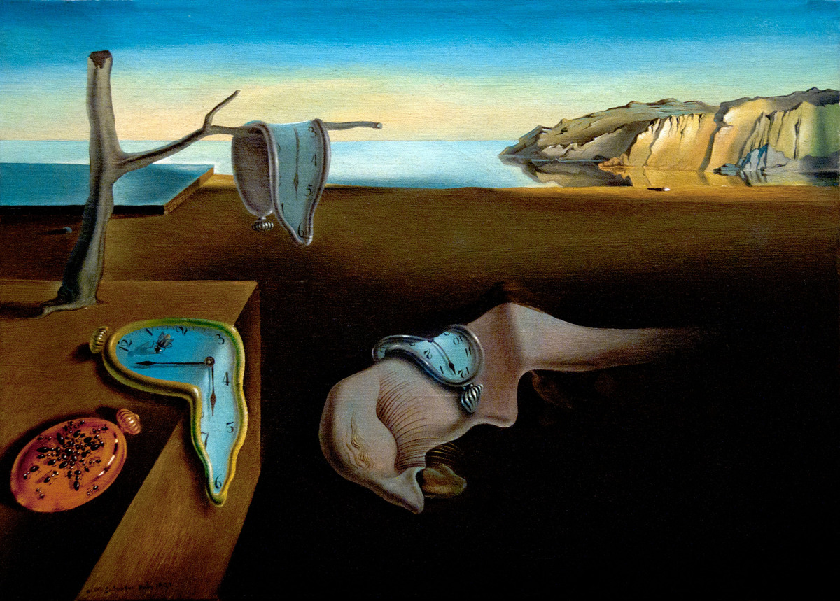"The iconic melting pocket watch in Dali's masterpiece is meant to signify the artist's personal interpretation of time as ""so"