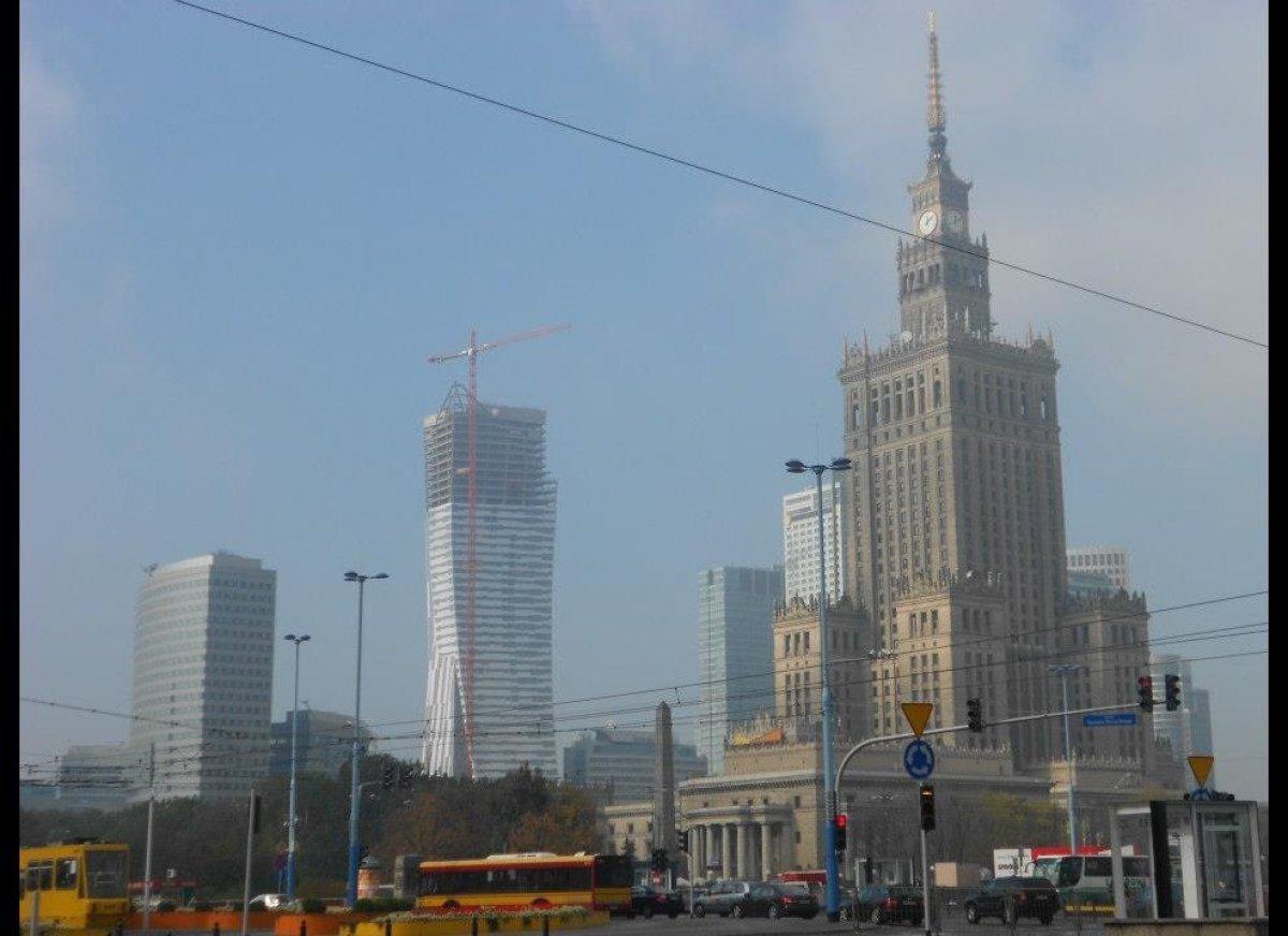 Warsaw Financial District