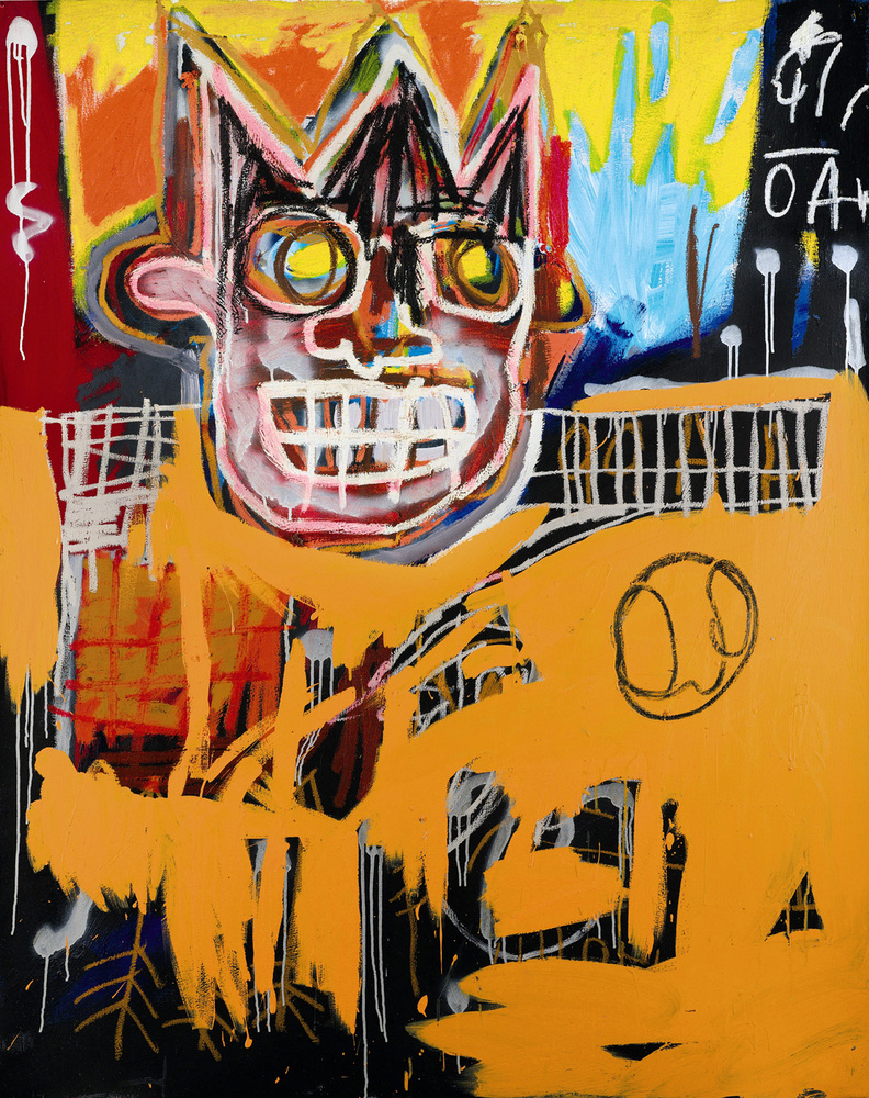 Basquiat ran away from home at the age of 15, seeking shelter in NYC's Washington Square Park until he was legally forced to