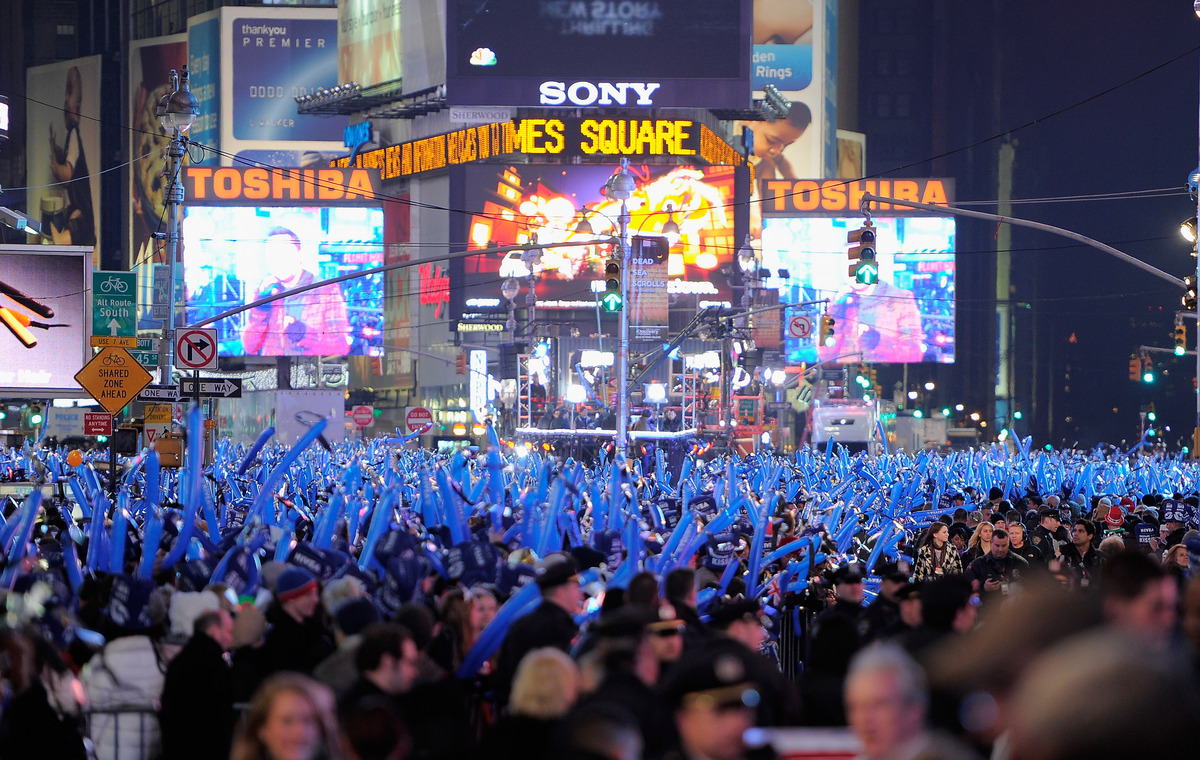<strong>60,000:</strong> The most wishes the Times Square Alliance has received in a given year. The wishes, written on color