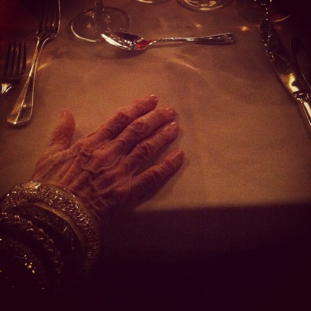 I sat next to Iris Apfel at a dinner to celebrate <em>W</em> magazine's 40th birthday a few months ago. She is 91 and still a