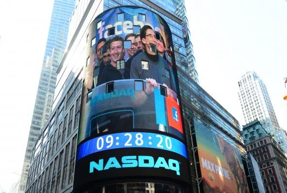 """<a href=""""http://data.cnbc.com/quotes/FB"""">Facebook's</a> $16 billion initial public offering (IPO) – the third-largest ever in"""
