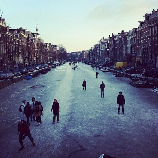 """<a href=""""http://blog.instagram.com/post/17337337366/photos-severe-freeze-in-europe"""">See more of Instagram's photos from this"""