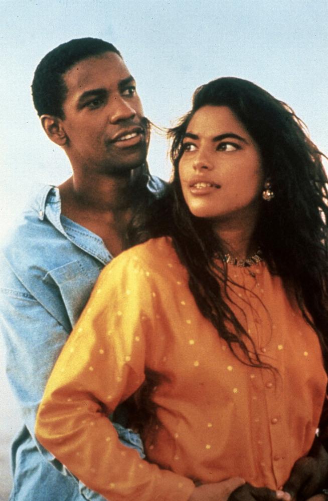 """Denzel Washington starred alongside Sarita Choudhury in 1991's """"<a href=""""http://www.imdb.com/title/tt0102456/"""">Mississippi Ma"""