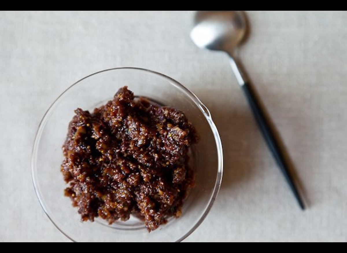 """<em><strong><a href=""""http://food52.com/recipes/8844_fig_and_olive_tapenade"""" target=""""_hplink"""">Get the recipe on FOOD52</a></st"""