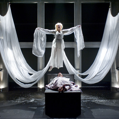"""Staged in full, """"Angels in America"""" is truly epic: a seven-hour """"gay fantasia on national themes"""" that encompasses the AIDS c"""
