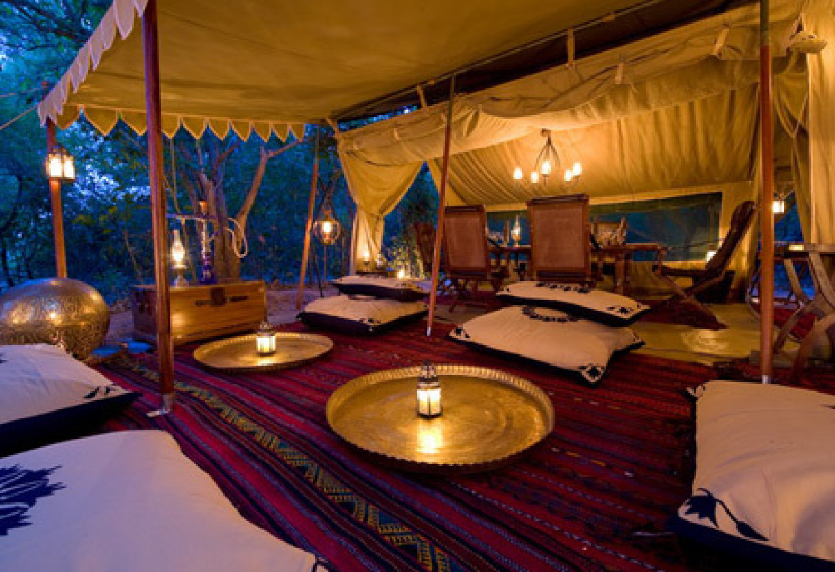 This camp used to be called Lukula and was in the Selous in Tanzania but was recently moved and reincarnated in the Selinda R
