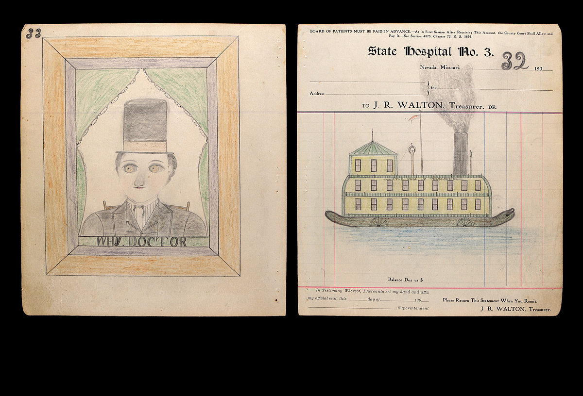 Talisman of the Ward: The Album of Drawings by Edward Deeds  Image courtesy Hirschl & Adler Modern