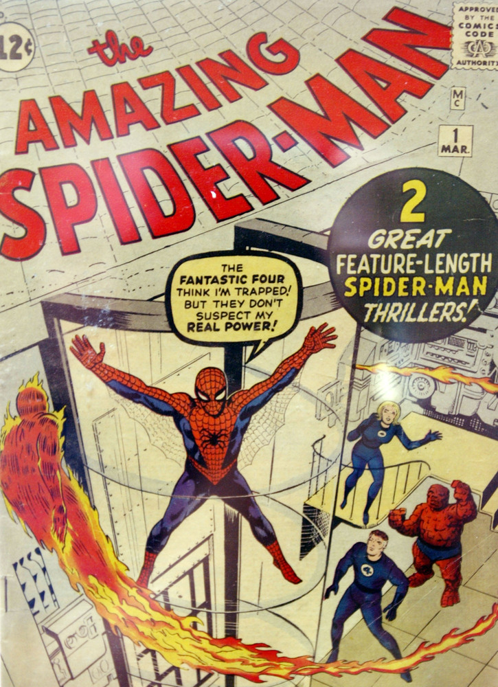 In 1962 Stan Lee created the Amazing Spider-Man along with co-plotter Steve Ditko. Lee produced 100 issues, spawning characte