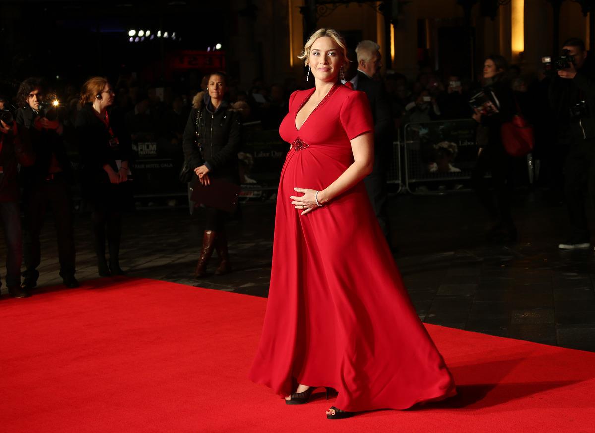 ARCHIVO - Foto de archivo, 14 de octubre de 2013 de la actriz británica Kate Winslet. Su publicista dijo el miércoles 11 de d