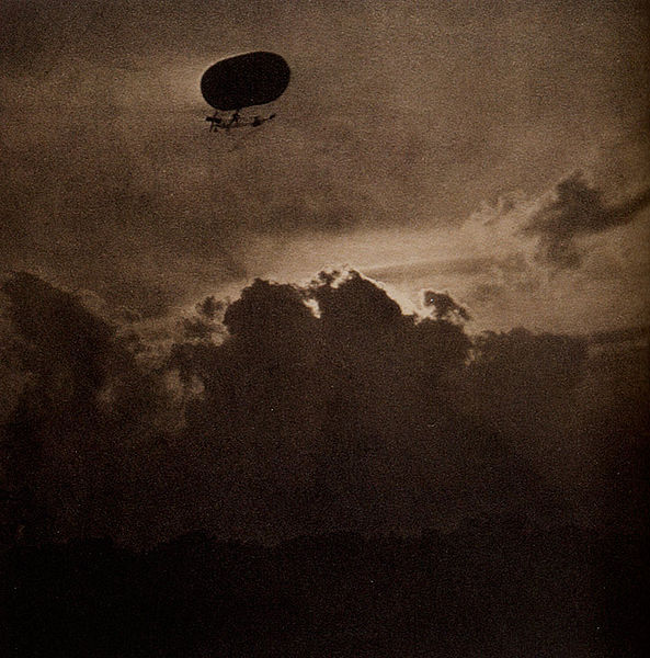 "Though he was born in Hoboken, New Jersey, Stieglitz spent much of his   IMAGE: Alfred Stieglitz, ""The Dirigible,"" 1910"
