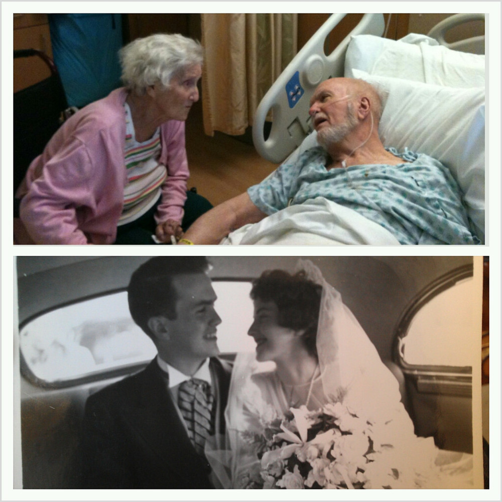 "Married for 64 years, James and Lauretta Burke were ""<a href=""http://www.huffingtonpost.com/2012/12/12/six-decades-of-love-vi"