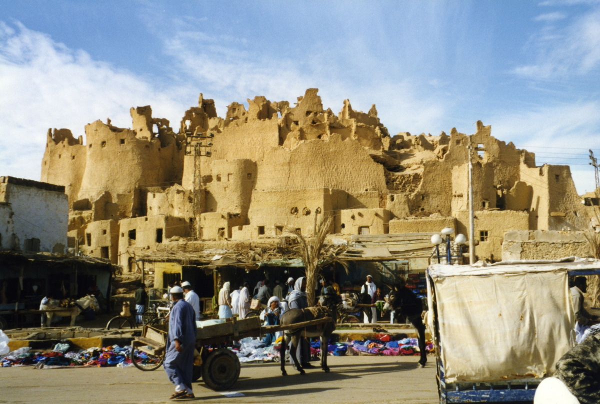 Some 340 miles west of Cairo, the historic town of Siwa sits close to the Libyan border in the middle of the Sahara. The town