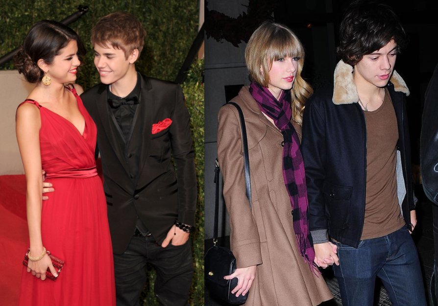 "It seems that Justin Bieber and Selena Gomez have fallen back in love again: <a href=""http://www.twistmagazine.com/2012/12/tw"