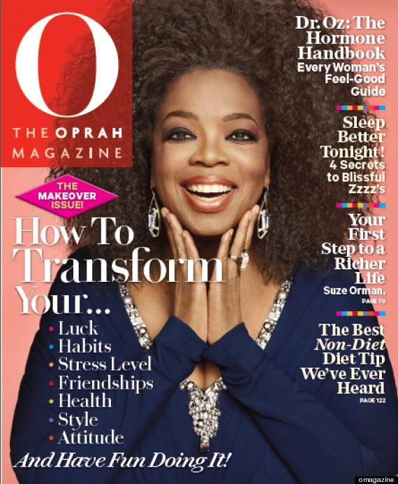 "Oprah Winfrey debuts natural hair on the September 2012 cover of O magazine. Read the story <a href=""http://www.huffingtonpos"