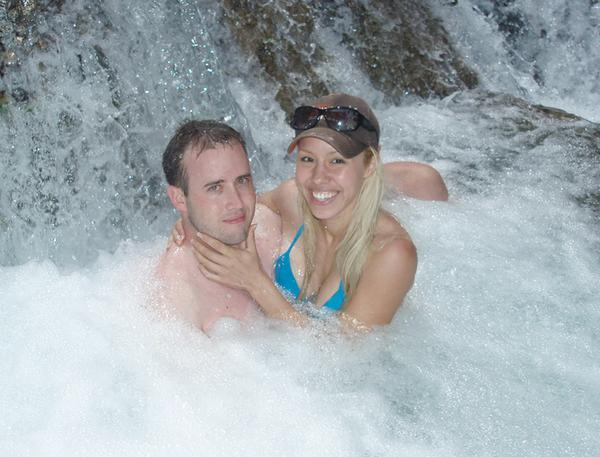 An undated photo of Travis Alexander and Jodi Arias that she posted to her MySpace page. According to the caption, the photo