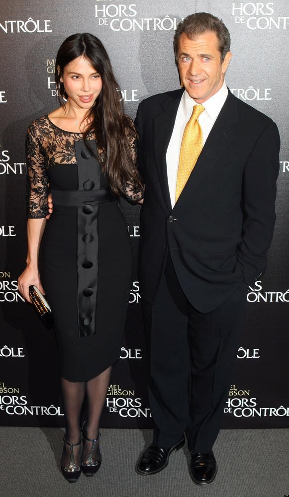 "Mel Gibson and <a href=""http://www.cbsnews.com/8301-31749_162-20009284-10391698.html"">now-estranged girlfriend </a>Oksana Gri"