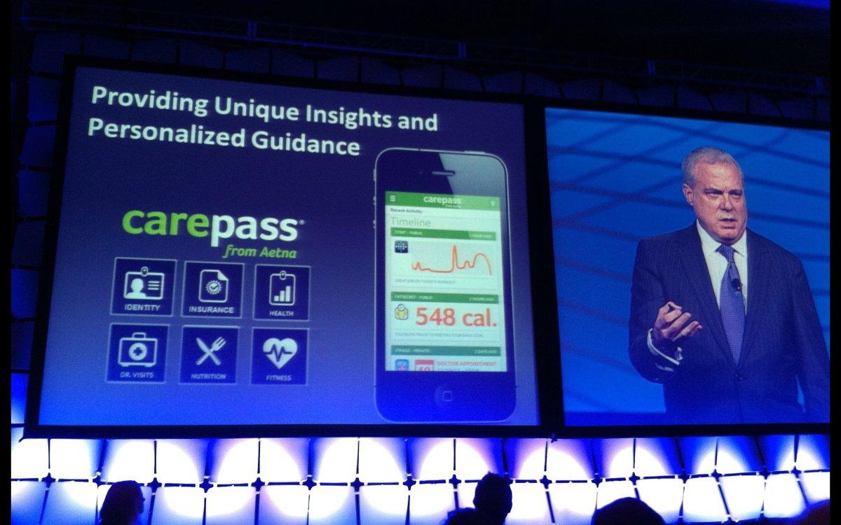 Mark Bertolini, Chairman, CEO, President of Aetna, talks about their CarePass app