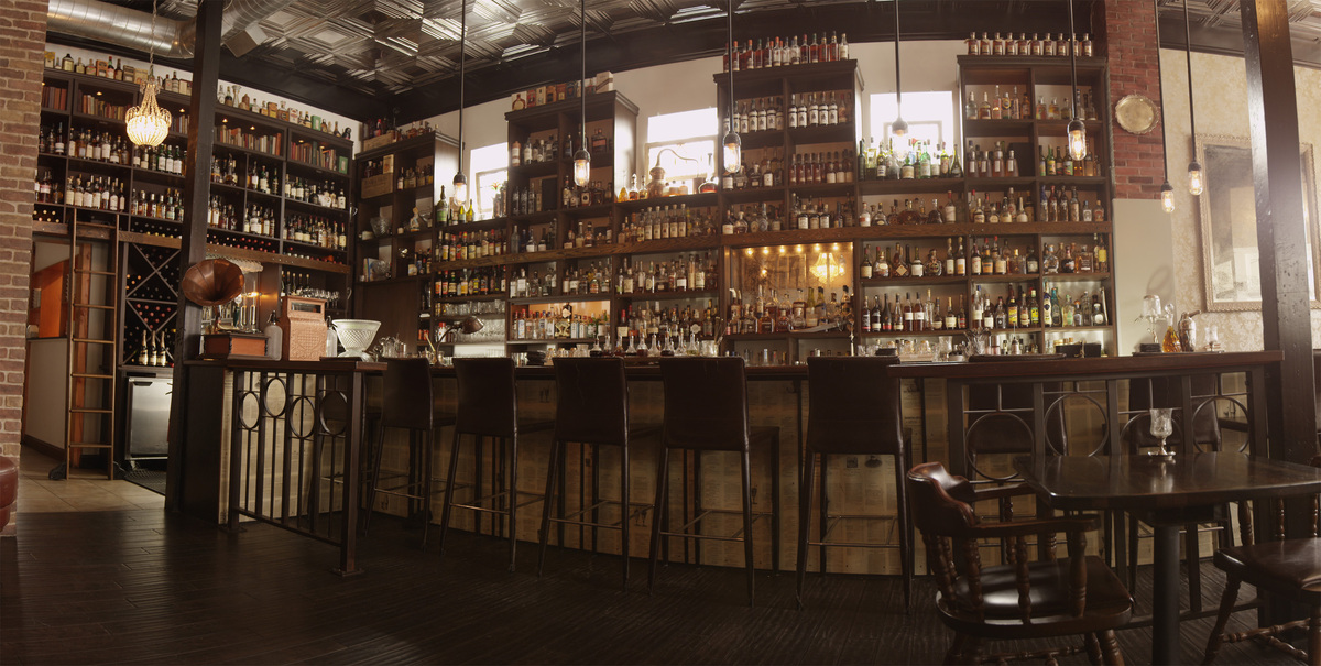At this genius spot, you can get gorgeously made cocktails like the gin-based La Bicyclette, served in a handy glass flask th