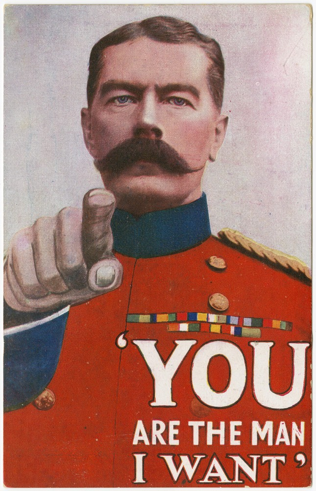 You are the man I want, circa 1915