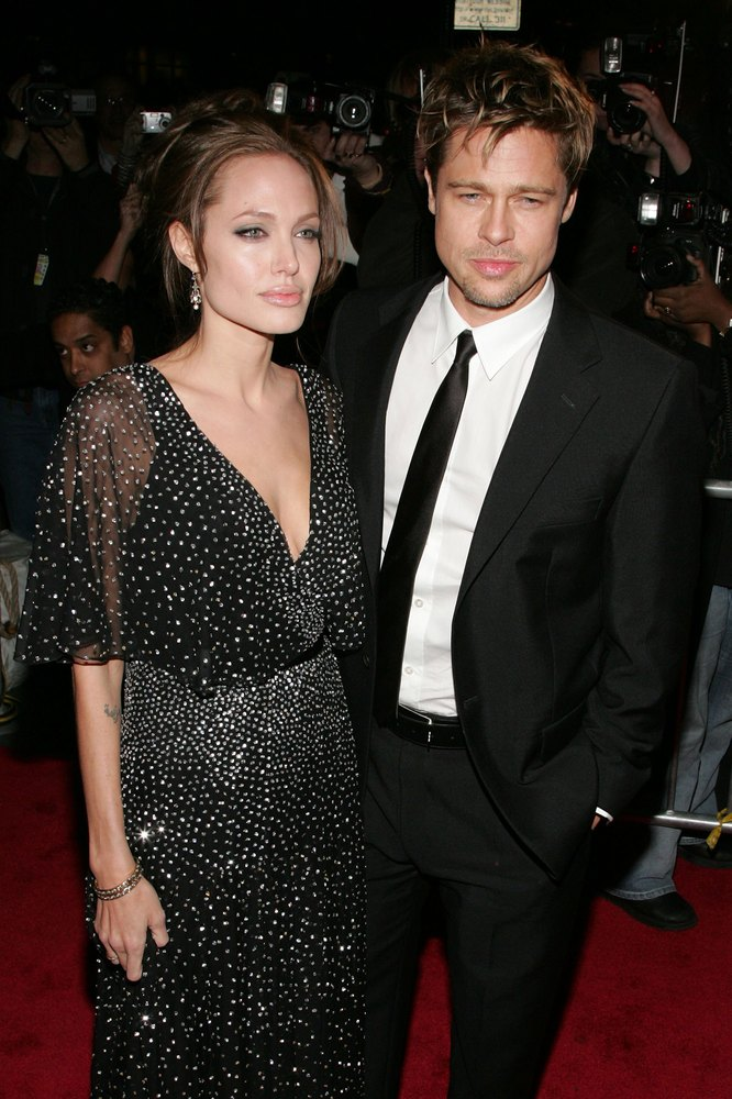 "Angelina Jolie and Brad Pitt <a href=""http://www.marieclaire.co.uk/celebrity/pictures/12098/19/brad-pitt-and-angelina-jolie-m"