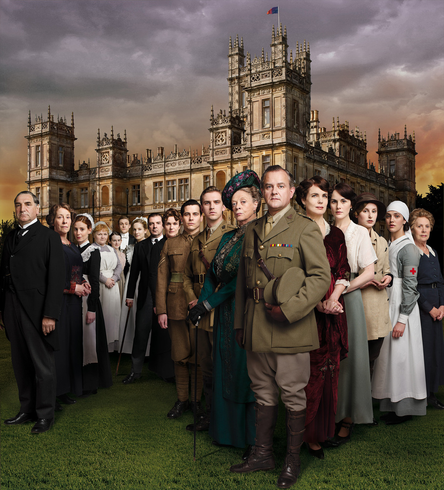 """Although Season 2 of """"Downton Abbey"""" brought a war, death by Spanish flu and a wheelchair-bound Matthew, Downton was able to"""