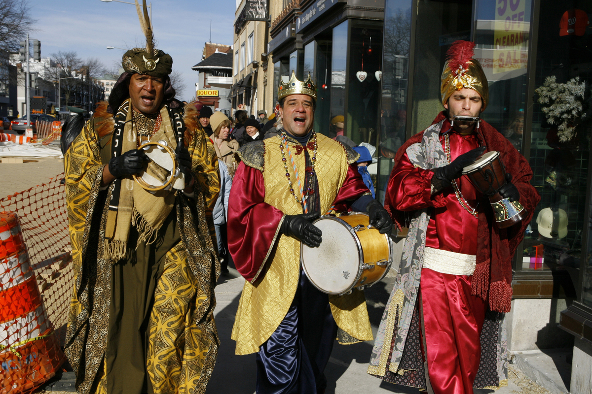 """Three Kings Day, or """"Feast of the Epiphany,"""" is celebrated in many parts of the world and marks the day on the Christian cale"""