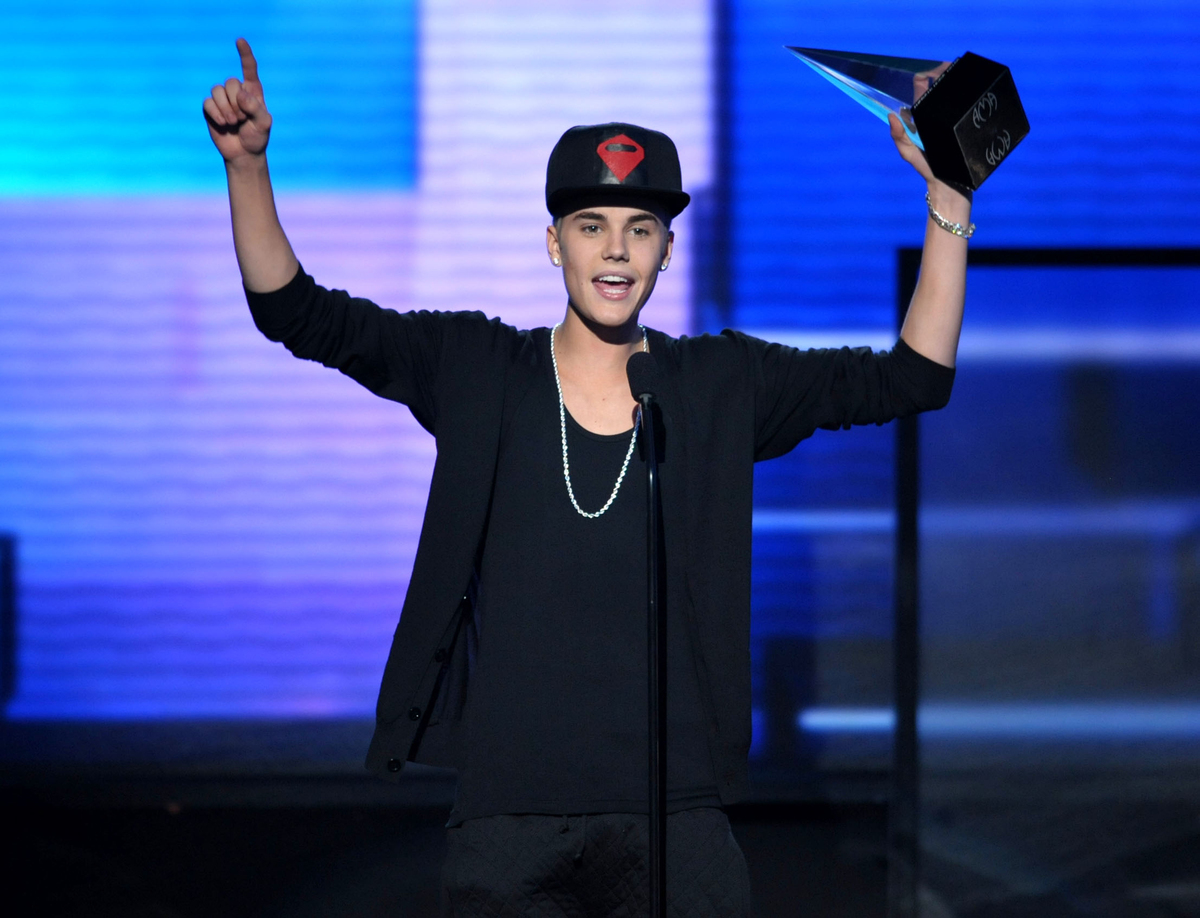 """Biebs has re-recorded hits from 2012's """"Believe,"""" including chart-topping singles """"Boyfriend"""" and """"Beauty and a Beat,"""" giving"""