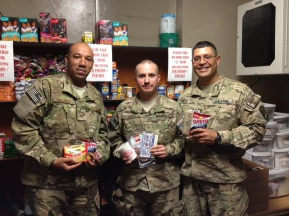 """The <a href=""""http://www.adoptasoldier3id.com/"""">Adopt-A-Soldier Program</a> for soldier's from the U.S. Army's 3rd Infantry Di"""