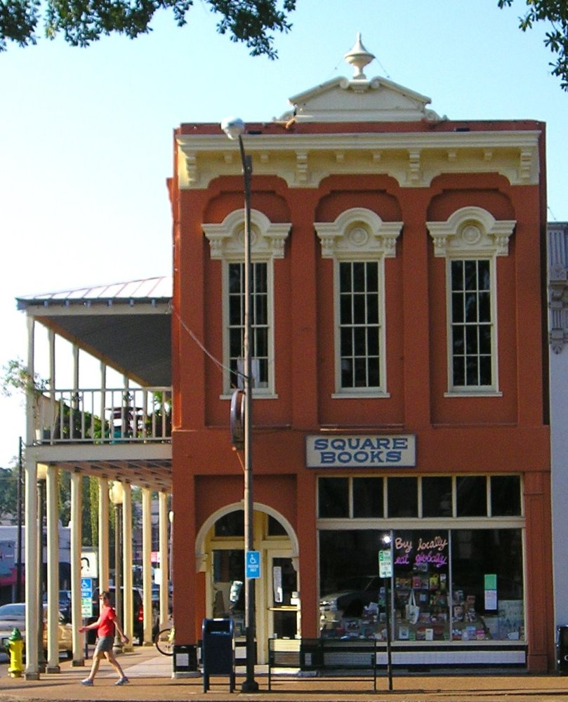 This three-in-one bookstore spans a triad of post-Civil War buildings on the town square of a charming southern college town