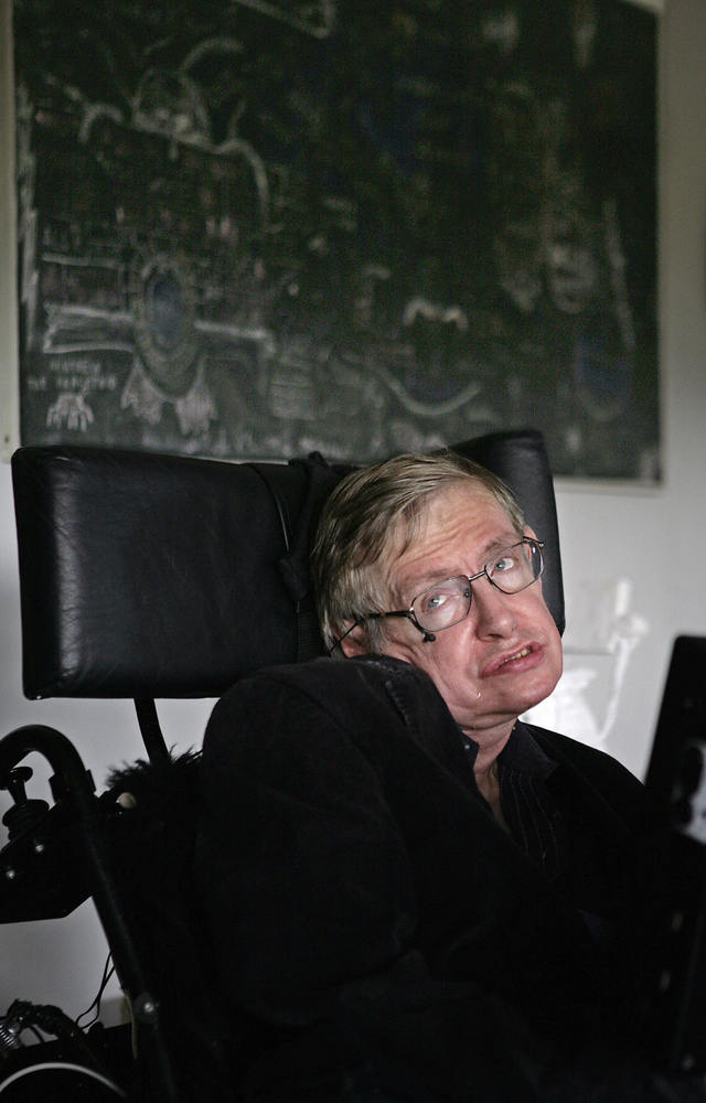 """Women. They are a complete mystery.""  -- Stephen Hawking's response when asked by <em>New Scientist</em> what he thinks abou"