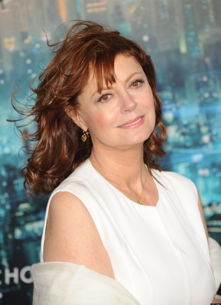 """Susan Sarandon, who famously raised a family with <a href=""""http://www.people.com/people/article/0,,20332851,00.html"""">actor Ti"""
