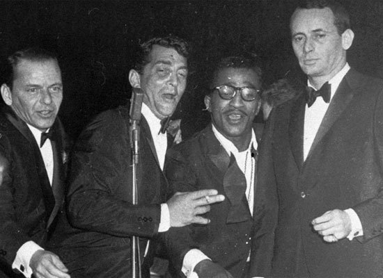 At the 1958 ceremony, Dean Martin, Sammy Davis, Jr., and Frank Sinatra, in attendance at the event, decided they'd be more en