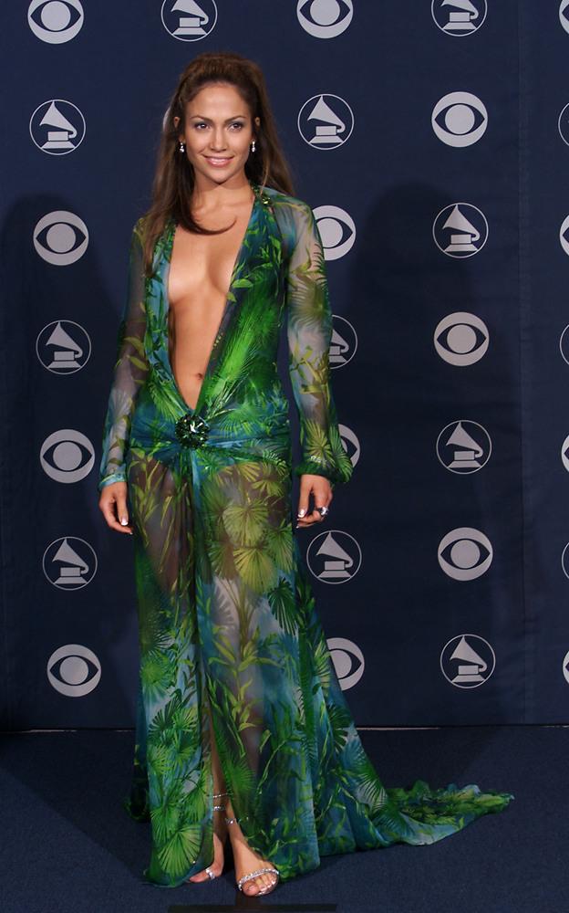 At the Grammy Awards, February 2000.