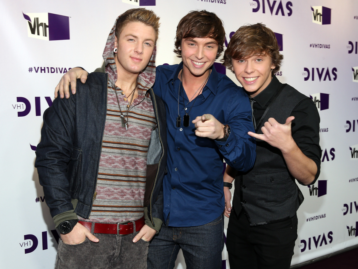 """Are boy trio Emblem3 the next One Direction? With a <a href=""""http://www.billboard.com/column/reality-check/x-factor-trio-embl"""
