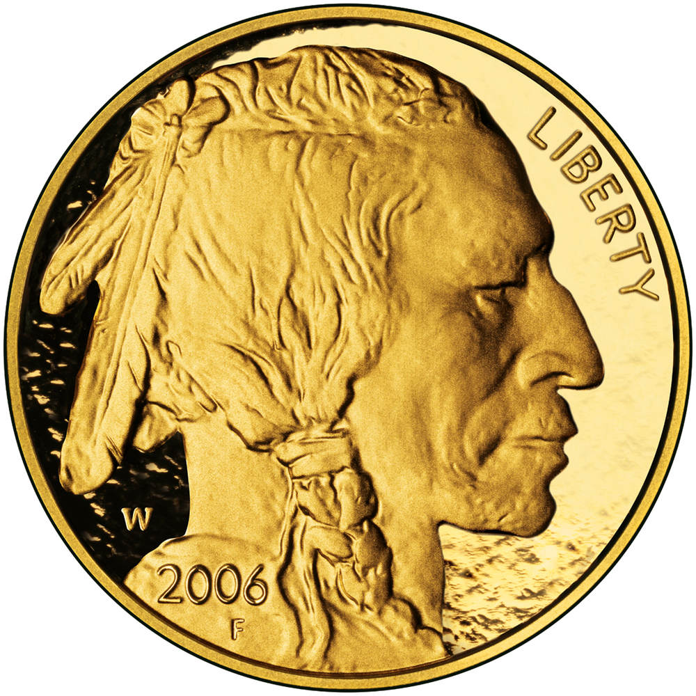 "First minted in 2006 primarily for investors and collectors, this coin with a face value of <a href=""http://www.usmint.gov/pr"