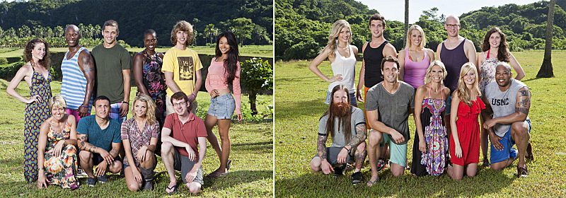"The Bikal Tribe (Favorites) and the Gota Tribe (Fans) are set to compete in ""Survivor: Caramoan -- Fans Vs. Favorites"" when t"