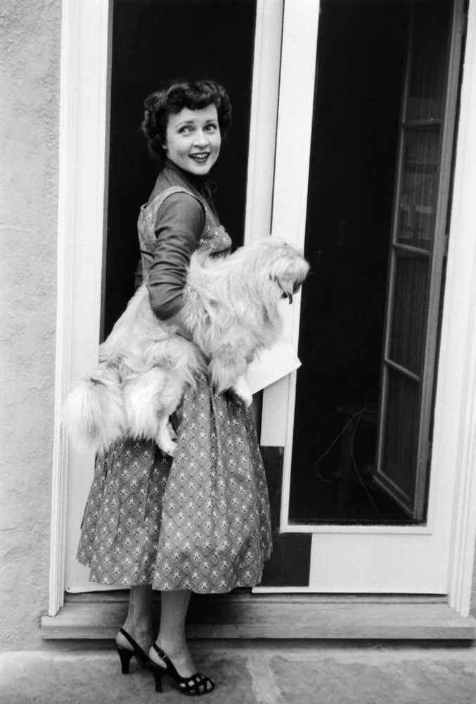 Betty White's look may have changed over the years, but her advocacy for animals has never changed.
